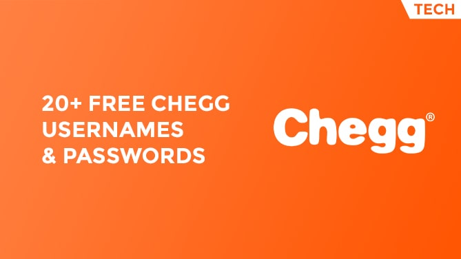 20+ Free Chegg Account Usernames & Passwords-min