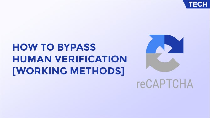 How To Bypass Human Verification -min
