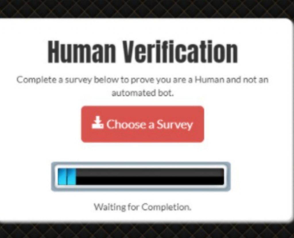 Bypass Human Verification
